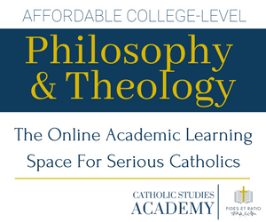 Catholic Studies Academy | College Level Philosophy and Theology